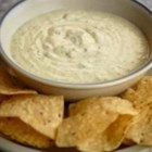 Creamy Jalapeno Ranch Dip - Fresh jalapeno pepper and canned green chilies give spice to this buttermilk and mayonnaise-based creamy dip.