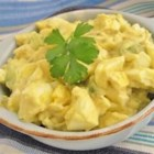 Magical Egg Salad - The magic in the simple egg salad is a splash of steak sauce.
