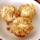 Delicious Pineapple Muffins - A moist muffin with a brown sugar and cinnamon topping.