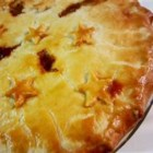 Scottish Mince Pie - My mother-in-law made this pie in Scotland. I serve it with boiled parsley potatoes and a nice salad.