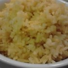 Easy Curry Rice - This rice side dish recipe utilizes a rice cooker.