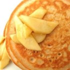 Spiced Maple Pancakes - Maple syrup, cinnamon, nutmeg, and cloves spice up these pancakes for a new twist on morning pancakes.