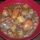 Harvest Beef Stew - This is a delicious, hearty stew that's perfect for late fall or winter. For the beer, I recommend Sierra Nevada Pale Ale.