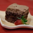 Chocolate Tres Leches Cake - This chocolate version of a Mexican classic dessert uses boxed Swiss chocolate cake mix and a homemade chocolate whipped cream.