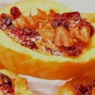 Cranberry Nut Tarts - A great cranberry twist on traditional nut tassies. These delightful fall tarts are baked in a mini muffin pan to stunning perfection. Perfect for parties and cookie trays.