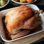 How to Cook a Turkey - This moist, flavorful turkey will shine at your Thanksgiving table.
