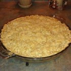 Sour Cream Pear Pie - This Pie is a favorite with my family.  I make it a lot for mother's day and birthdays.  It's a different flavor, and a nice change from the ordinary.