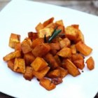 Rosemary Roasted Butternut Squash - Butternut squash roasted with fresh rosemary and garlic makes a satisfying side dish, especially during the fall months.