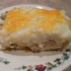 After Thanksgiving Casserole - Layer and bake your Thanksgiving leftovers of turkey, mashed potatoes, and gravy in a casserole with stuffing cubes and Cheddar cheese for a quick way to clear out the refrigerator.