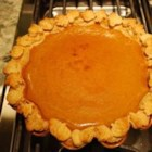 Chef John's Pumpkin Pie - This rich pumpkin pie includes sweetened condensed milk and egg yolks in the filling for the perfect custard texture.