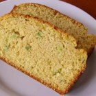 Jalapeno Green Onion Ale Corn Bread - This corn bread recipe uses beer, buttermilk, green onion, and jalapeno pepper.