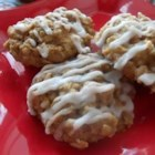 Aunt Hazel's Apple Oatmeal Cookies - This is an old family favorite recipe for oatmeal cookies featuring walnuts and apple you'll be glad to share with your family.