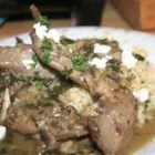Herb and Beer Braised Rabbit