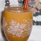 Wassail Punch - A spicy apple cider served hot in the winter months.
