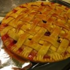 Apple Cranberry Pie - This is a wonderful twist on the traditional apple pie - great for fall!  It calls for Pippin apples, but I usually use a combination of several kinds.  Occasionally I add a bit of cinnamon, too!