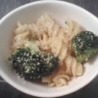 One Dish Broccoli Rotini - Try giving extra flavor to pasta by boiling it in the same water used to cook broccoli. Combine the pasta and broccoli with sauteed garlic and Parmesan, add salt and pepper to taste, then serve!