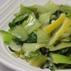 Easy Bok Choy - The delicate flavor of bok choy shines through in this simple recipe that needs just oil, garlic, and salt.