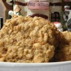 Butterscotch Oatmeal Cookies - These cookies are packed with oats and butterscotch chips.