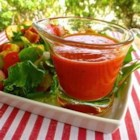 Ruby French Dressing - This tangy French dressing is made with ketchup, olive oil, onion, lemon juice, and a few seasonings. It's easy to keep a batch in the refrigerator ready for your favorite salad.