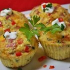 Paleo Omelet Muffins - These paleo-style, muffin-shaped omelets with meat and vegetables are easy to make and easily adaptable.
