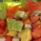 'Who Needs Lettuce?' Salad - Chop fresh tomatoes, avocado, and red onion, add a splash of red wine vinaigrette, and you'll have a terrific side salad, great with steak or chicken.
