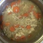 Country Chicken Soup - Homemade soups like this chicken and rice recipe are easy to make with Swanson(R) Broth and are also heartwarming to eat.