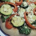 Photo of: Individual Grilled Veggie Pizzas - Recipe of the Day
