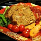 Christine's Meat Loaf - Try this easy mix-and-bake recipe for meat loaf if you like having nice firm slices for meat loaf sandwiches.