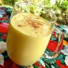 Eggless Nog - I stumbled upon this recipe when trying to make vanilla instant pudding for my daughter, who is allergic to milk. I not only discovered that instant pudding doesn't work with non-dairy creamer, but it DOES create the base for the richest, tastiest, no-cholesterol egg nog I've ever tasted! Because there are no raw eggs, it's also safer that the traditional.
