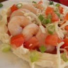 Shrimp Appetizer - This quick and delicious appetizer is perfect for all occasions. Creamy, zesty and filled with tasty little shrimp, it's particularly good served with buttery round crackers.