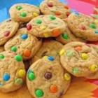 Candy-Coated Milk Chocolate Pieces Party Cookies - This is a easy, delicious recipe I have  had since the 70's.  Always a winner and  always requested.