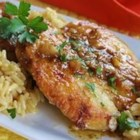 Pan-Seared Chicken Breasts with Shallots - Quick, easy sauteed chicken breast recipe with a good sauce to drizzle over rice or mashed potatoes.