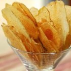 Potato Chips - Make your own potato chips using your microwave. A tasty and easy alternative to store-bought potato chips (not to mention economical)! A mandoline would make slicing the potato into paper thin slices a breeze.