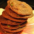 The Best Mint Chocolate Cookies - Tender cookies with milk chocolate chips and peppermint extract.