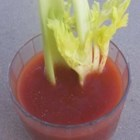 Bloody Mary On Fire - Fruity, fiery habanero peppers give a definite kick to a savory vodka bloody mary.
