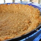 Graham Cracker Crust I - Remember this recipe when you want to whip up your favorite chocolate, coconut custard or banana cream pie. Butter, graham cracker crumbs and sugar are perfectly balanced in this recipe. And the mixture presses nicely into a pie pan, and can be pre-baked or just chilled.