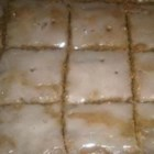 Spice Bars - These are Sister Rachel's Spice Bars.  If you like yummy, spicy, chewy cookie bars, you'll love these!