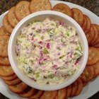 Magic Pickle Dip - Everyone's favorite rolled up appetizer is made into a tasty and easy dip, great for any occasion.