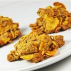 Bacon Breakfast Cookies - These savory whole wheat cookies have bacon bits and Cheddar cheese and are sure to satisfy your sweet and salty cravings.