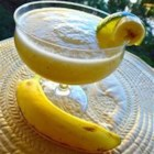 Fresh Banana Daiquiri - Blend up a slushy tropical cocktail with tangy lime juice, light rum, and the mellow flavor of banana.