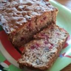 Cranberry Apple Bread - This bread is a holiday favorite in our family. It's very festive and is a wonderful breakfast bread for Thanksgiving and Christmas morning. I like to prepare my bread batter ahead of time and thaw it out the night before I serve it. Just pop it in the oven in the morning and you have fresh breakfast bread. Enjoy!