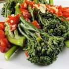 Broccoli Rabe with Roasted Peppers
