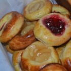 Kolaches II - This version of the classic Czech pastry livens up the dough with lemon flavoring.