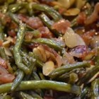 Green Beans with Almonds - This is one of those dishes that tradition has snatched. Most everyone has a green bean dish on the menu for the holidays. The almonds are a nice detour from the usual ingredients.