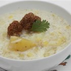 Dilled Potato Leek Chowder - Dried dill adds a certain zing to this comforting soup.