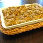 Sweet Potato Casserole I - This is a nice sweet potato casserole with pecans. You can also add coconut if you like. This was given to me by a co-worker who serves this every Thanksgiving.