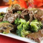 Hot and Tangy Broccoli Beef - Tangy and spicy beef and broccoli are a winning combination in this quick stir-fry dinner.
