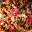 Greek Pasta Salad III - Cool pasta salad with the Greek taste of Feta to finish it off.