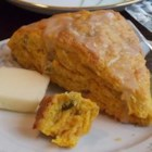 Chef John's Pumpkin Scones - Pumpkin puree is a great addition to these scones.