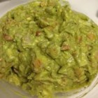 Fresh Guacamole - This guacamole is fresh, green, and a little zesty.
